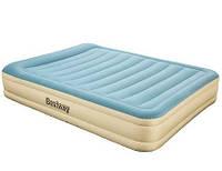 Надувная кровать двуспальная Bestway 69007+ 220Vнасос