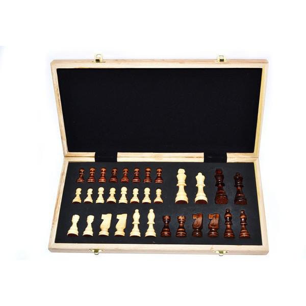 Шахматы деревянные подарочные 30х30 см