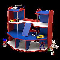 Стенка детская игровая Design Service Гараж для детских учебных заведений (70)