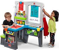 Детский центр со столом и доской для творчества GREAT CREATIONS ART CENTER, 114х100х67см STEP 2 869800