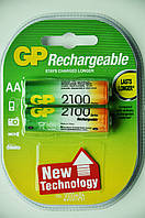 Аккумуляторная батарея GP R06, АА, 2100mAh