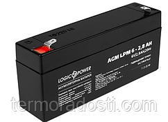 Аккумулятор для ИБП Logic-Power AGM LPM 6-2,8 AH