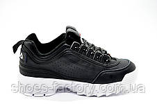 Женские кроссовки в стиле Fila Disruptor 2, Black\White, фото 3