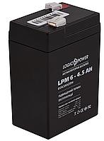 Аккумулятор для ИБП Logic-Power AGM LPM 6-4,5 AH