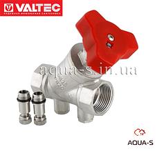 """Клапан балансувальний Valtec DN 1/2"""" (ручний) для гідравлічної ув'язки (VT.054.N)"""