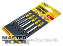 MasterTool  Пильное полотно для быстрых, грубых криволинейных пропилов 5шт (T119BO) , Арт.: 14-2801