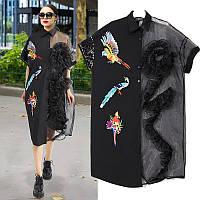 Платье-рубашка Oversize итальянский бренд