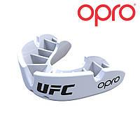 Капа OPRO Bronze UFC белая, фото 1