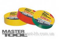 MasterTool  Лента изоляционная 0,15 мм,17 мм*10 м,  желтая, Арт.: 44-9310