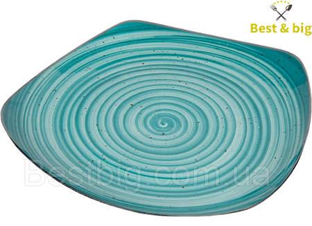 Тарелка квадратная (Водоворот) - 240 х 240 мм (Farn) Siesta