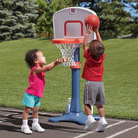 Набор для игры в баскетбол SHOOTIN HOOPS JR, мин.110х53х93см, макс. 156х53х93см STEP 2 7356WM