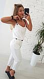 Женский льняной комбинезон (2 цвета), фото 4