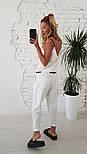 Женский льняной комбинезон (2 цвета), фото 5
