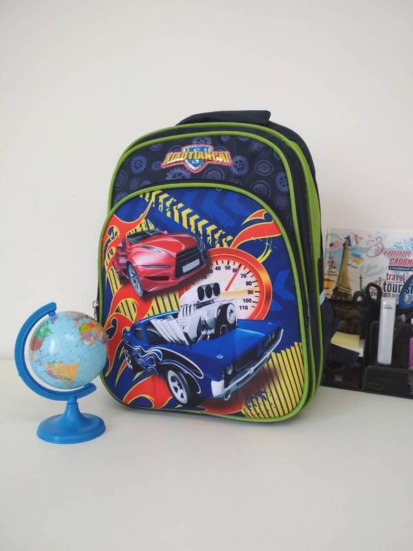 Рюкзак с анатомической спинкой для школьника 40*30*19 см