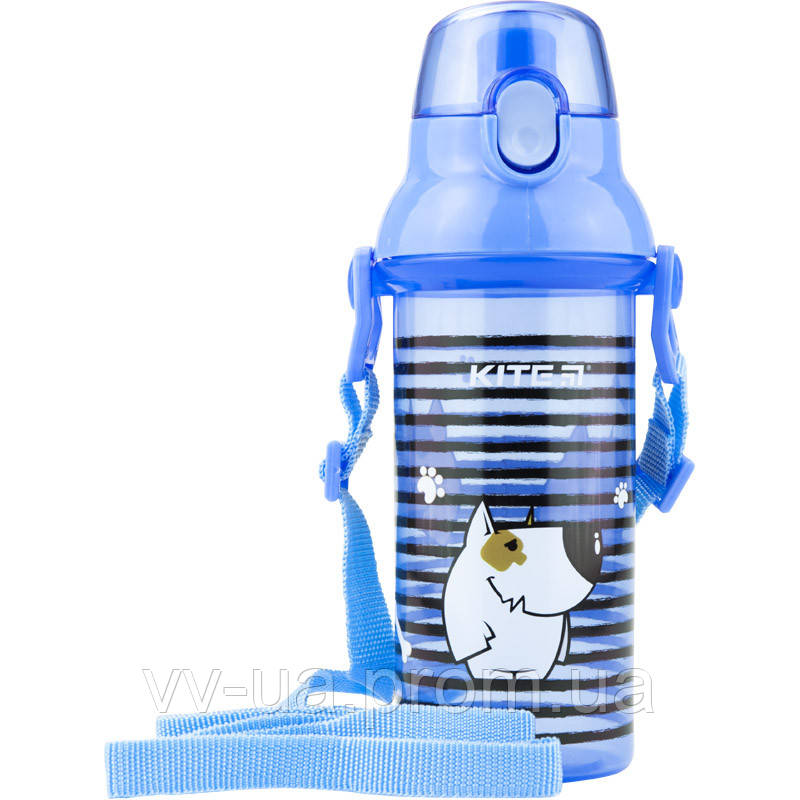 Бутылка для воды Kite K18-403-04, 470 мл, голубая