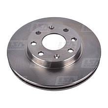Тормозной диск задний LSA Chevrolet Aveo LA 96574633