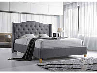 Двоспальне ліжко з мякою оббивкою Aspen 160 Signal