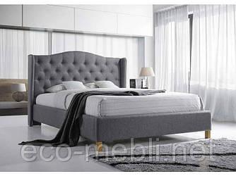 Двоспальне ліжко з мякою оббивкою Aspen 180 Signal
