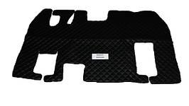 Коврики в салон Renault Magnum черные (еко кожа) для грузовиков(6884)
