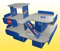 Стенка детская игровая Design Service Паркинг 2 (572)
