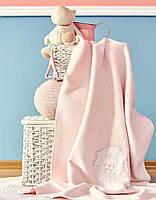Плед в кроватку Karaca Home Pink Garden 2018-2 100*120