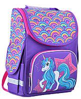 Ранец школьный каркасный  PG-11 Unicorn  31*26*14 554451  Smart
