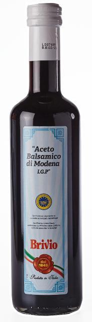 Оцет Brivio бальзамічний, 0.5л, 12шт/ящ