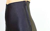 Шорты для похудения  BERMUDA COTTON (р-р S-XL наружный слой-неопрен, внутренний слой-хлопок, черный)