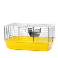 Клетка для декоративных кроликов InterZoo Rabbit 60 Zinc G072 (580*380*310мм)