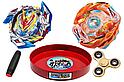 Бейблейд набор с ареной + Roctavor + Valtryek V4 + Mokuru + Spinner