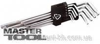 MasterTool  Ключи TORX 9шт. длинные (1), Арт.: 75-0961