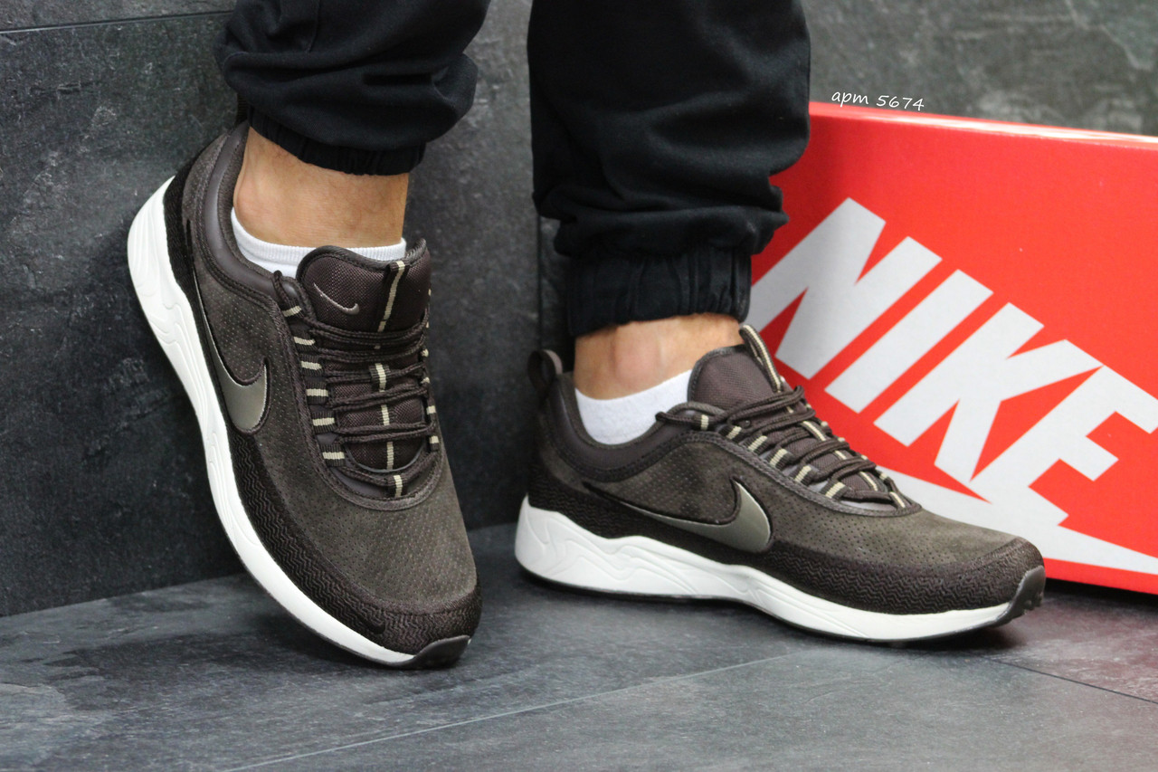 Кроссовки мужские Nike коричневые ( Реплика ААА+) - bonny-style в  Хмельницком 163e3ba9eef9e