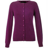 Женский кардиган на пуговицах Minimum CAMILLA Cardigan Magenta размер S