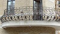 Французский балкон, эксклюзивная ручная ковка.