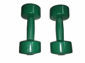 Гантелі для фітнесу Титан 2 шт по 2 кг