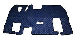 Коврики в салон Renault Magnum синие (еко кожа) для грузовиков(6885)