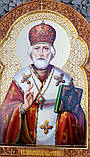 Иконы на сусальном золоте. Икона писаная Святой Николай Чудотворец, фото 2