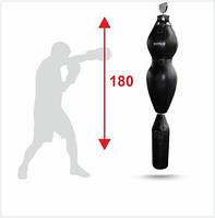 Манекен для боксу Бойко-Спорт, Силует, динамічний на ролику шкіра -180см