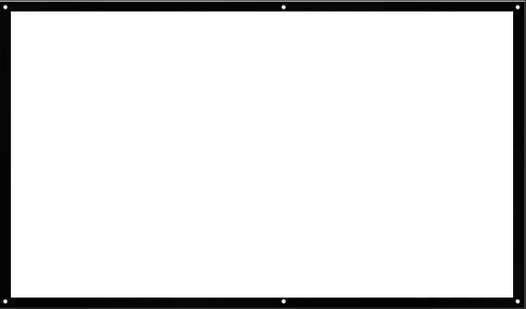 """Экран для проектора 72"""" 16:9 натяжной"""