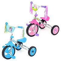 Детский велосипед Bambi M 1658 B (Голубой) гномик