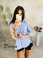 """Женская рубашка """"0041"""" (р. S - L) купить в розницу по оптовой цене"""