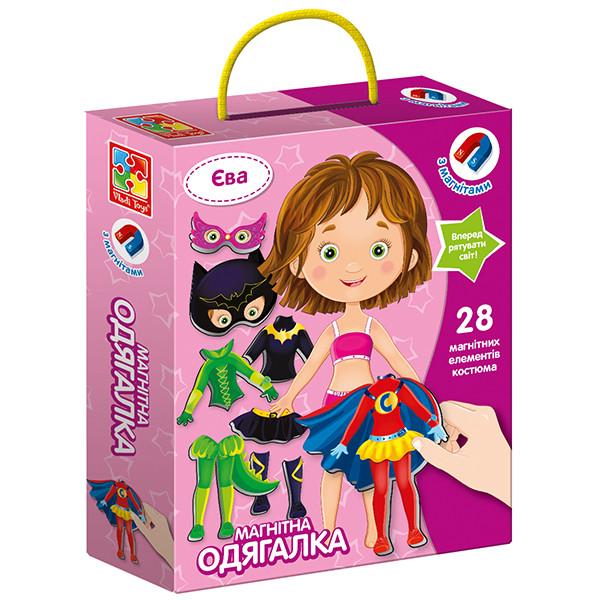 Магнитная игра-одевашка Vladi Toys Ева (Укр) (VT3702-08)