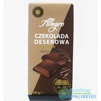 Шоколад Чёрный Allegro Deserowa 100 Г