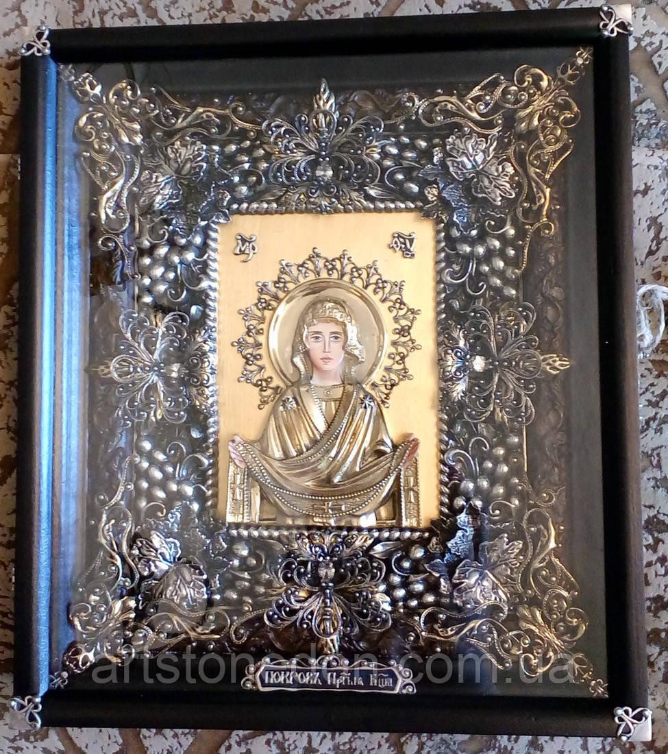 Элитная икона Божьей Матери Покров