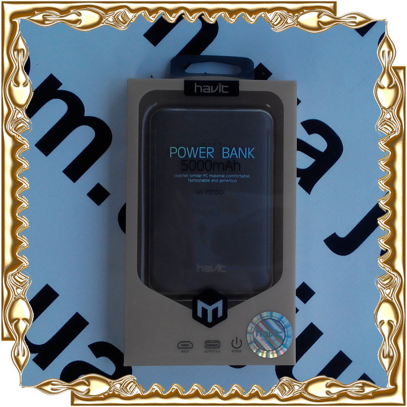 Pover bank (повер банк) HAVIT HV-PB004x,5000 mah 2.1A