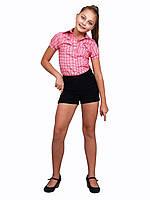 Блузка детская для девочек школьная М-923 красная рост 134 140 и 164, фото 1