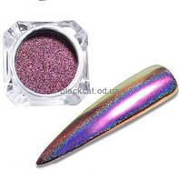 Втирка перо павлина фиолетово-синяя Global Fashion №04, фото 1