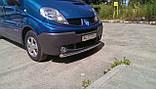 Защита переднего бампера на Opel Vivaro, фото 2