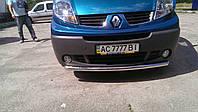 Защита переднего бампера на Opel Vivaro