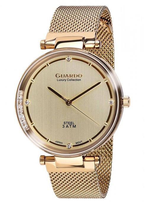 Женские наручные часы Guardo S01959(m) GG